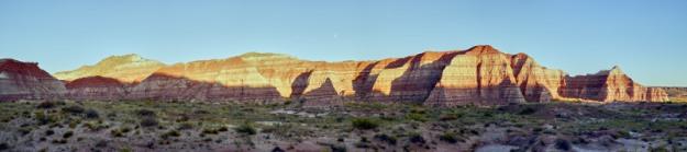 "Vermillion Cliffs near the ""Toadstools"" hoodoos"