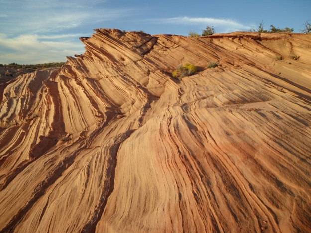 Just east of the Waterholes Canyon