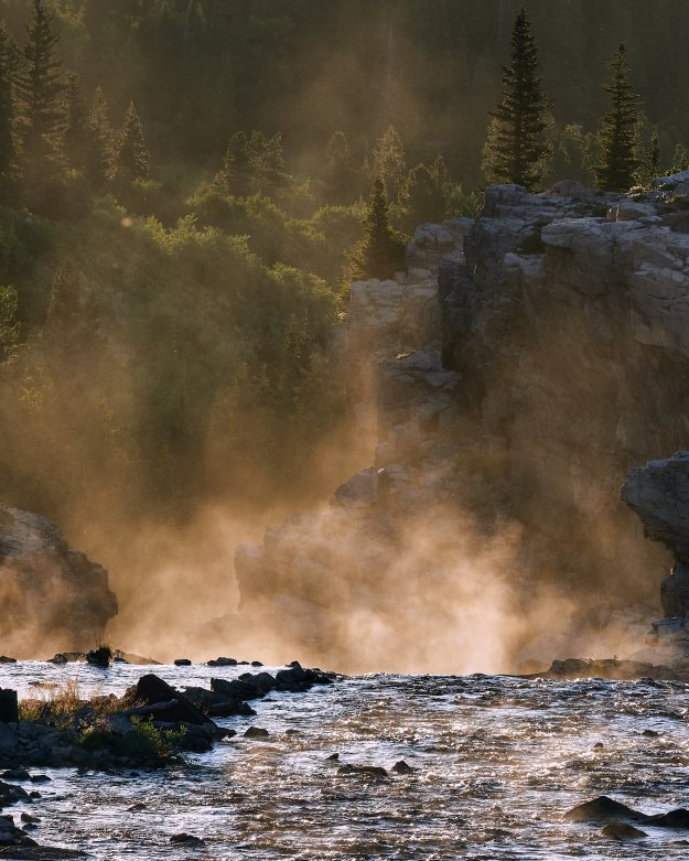 Swiftcurrent Falls