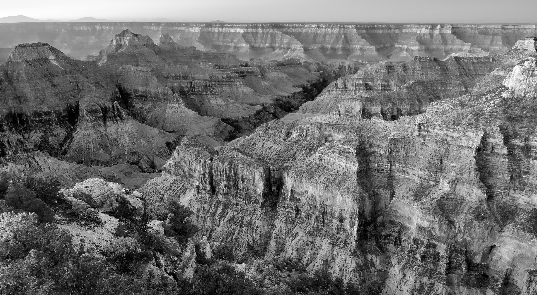 River Gorge Monochrome